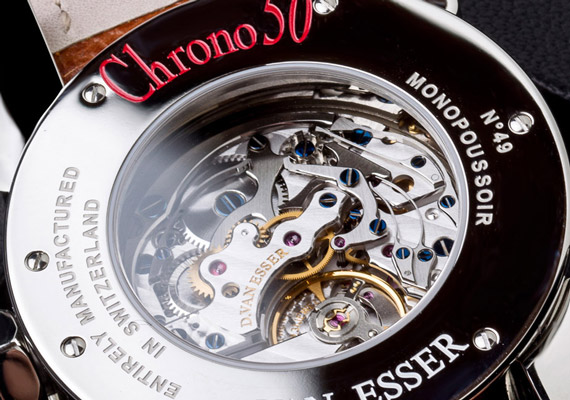 Watch editorial shots for the new Chrono50 Monopoussoir, A ONE by VAN ESSER Hasselt.